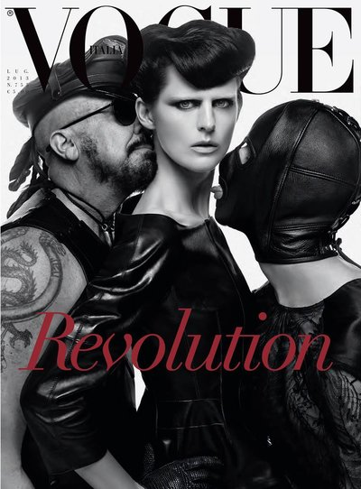 Stella Tennant - Ph: Steven Meisel for Vogue Italia July 2013 Cover
