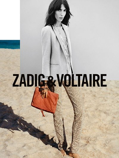 Jamie Bochert - Zadig and Voltaire SS13
