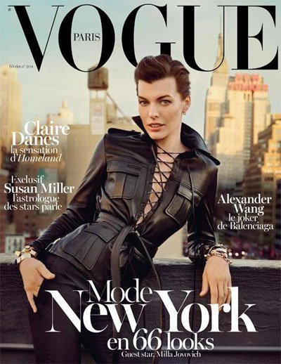 Milla Jovovich - Ph: Inez van Lamsweerde and Vinoodh Matadin for Vogue Paris
