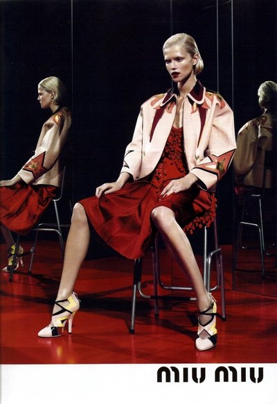 Kasia Struss - Photo: Mert & Marcus for Miu Miu S/S 2011