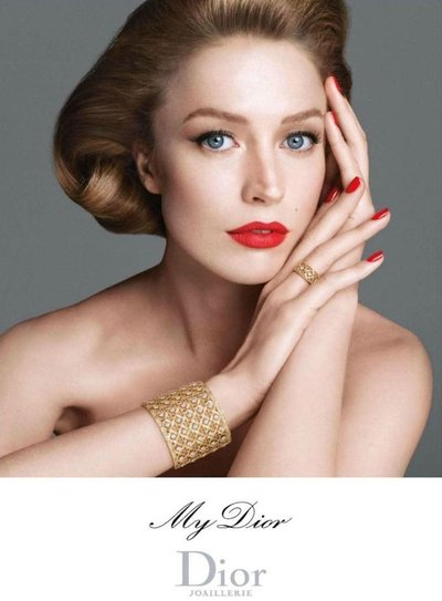 Raquel Zimmermann - Ph: Steven Meisel for Dior Joaillerie