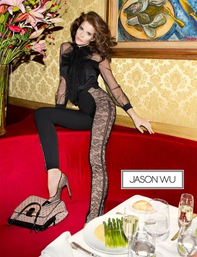 Stephanie Seymour - Ph. Inez and Vinoodh for Jason Wu
