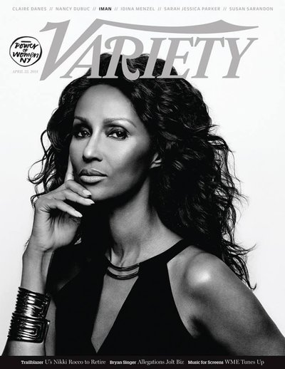 Iman Abdulmajid - Ph: Yu Tsai for Variety Cover April 2014