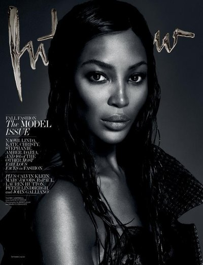 Naomi Campbell - Ph. Mert & Marcus for Interview Magazine