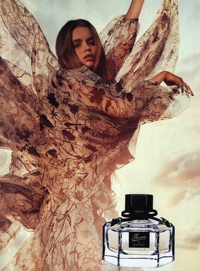 Abbey Lee Kershaw - PH: Inez van Lamsweerde and Vinoodh Matadin for Flora Gucci Fragrance 2010