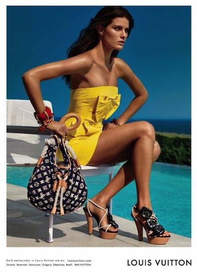 Isabeli Fontana - Ph: Patrick Demarchelier for Louis Vuitton Cruise 2010