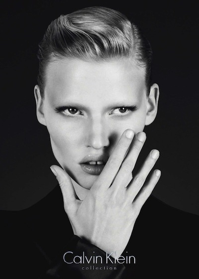 Lara Stone - Ph: Mert Alas and Marcus Piggot for Calvin Klein F/W 10