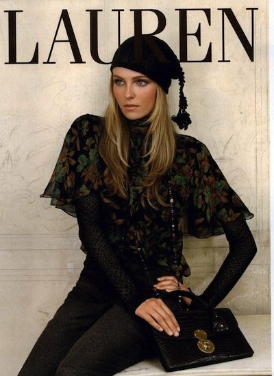 Valentina Zeliaeva - Photo: for Ralph Lauren