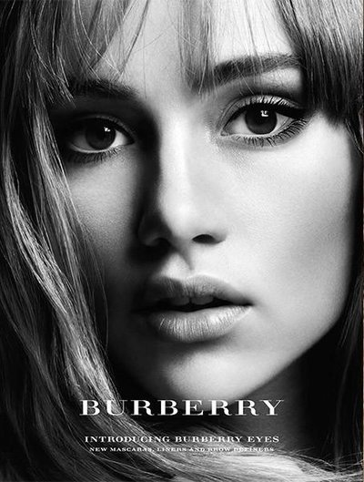Suki Waterhouse - Ph: Cuneyt Akeroglu for Burberry Beauty 2014