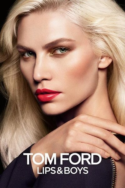 Aline Weber - Ph: Tom Munro for Tom Ford Beauty 2014