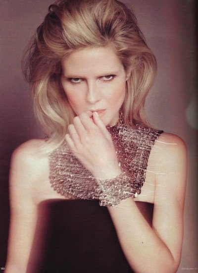 Heidi Klum - Photo: Francesco Carrozzini for German Vogue June 2009