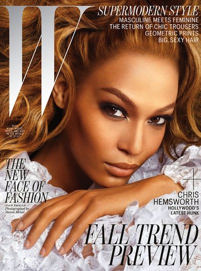 Joan Smalls - Photo: Steven Meisel for W Magazine July 2012
