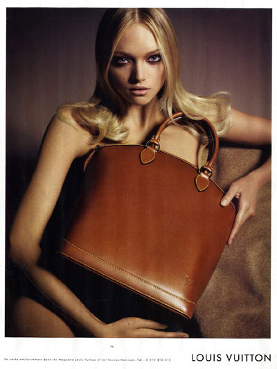 Gemma Ward - Photo: for Louis Vuitton Le Sac: S/S 07