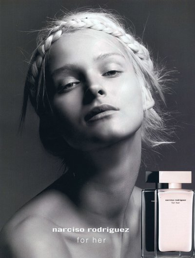 Carmen Kass - PH: Inez van Lamsweerde and Vinoodh Matadin for Narciso Rodriguez Fragrance 2010