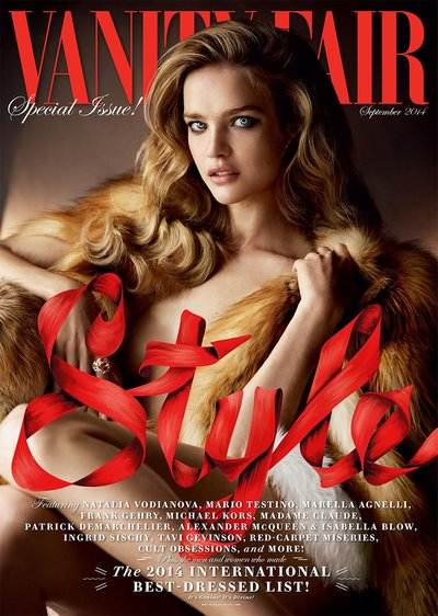 Natalia Vodianova - Ph. Mario Testino for Vanity Fair