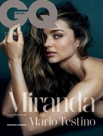 Miranda Kerr - Ph. Mario Testino for GQ UK