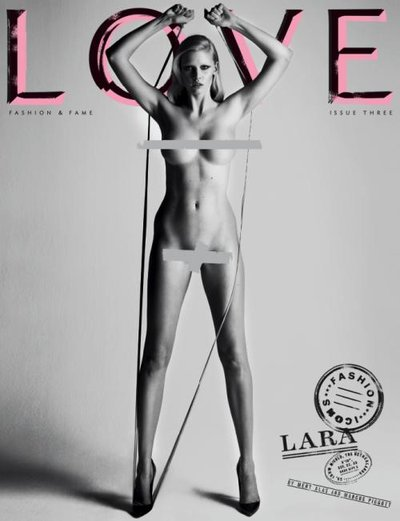 Lara Stone - Photo: Mert & Marcus for Love Magazine