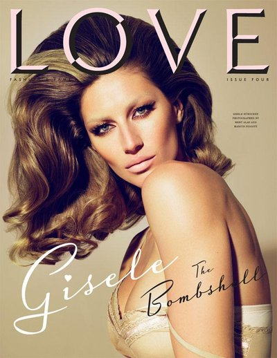 Gisele Bundchen - Mert & Marcus for LOVE