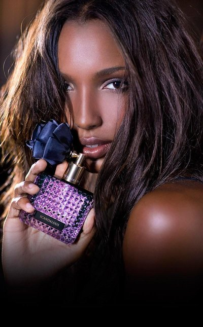 Jasmine Tookes - Ph: for Victoria's Secret Scandalous Fragrance 2014