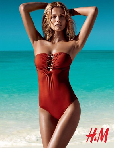 Edita Vilkeviciute - Photo: Patrick Demarchelier for H&M