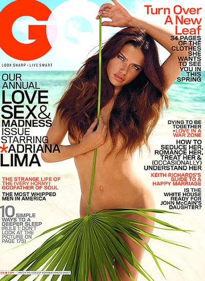 Adriana Lima - Photo: Inez Van Lamsweerde & Vinoodh Matadin for GQ April 2008