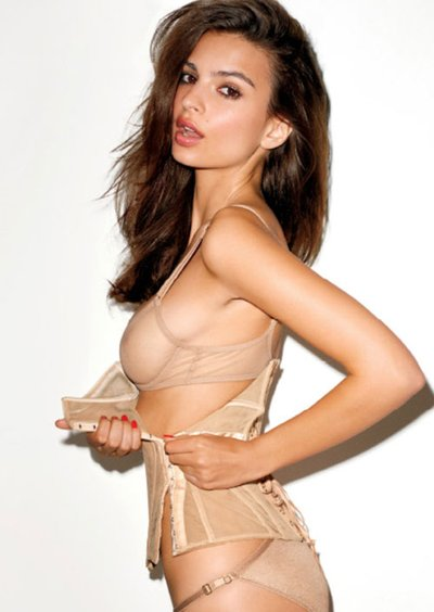 Emily Ratajkowski - Ph. Terry Richardson for GQ