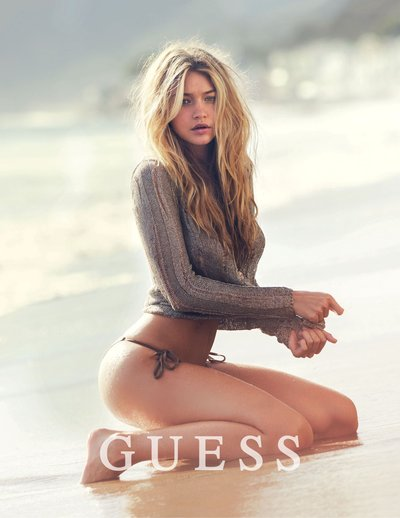 Gigi Hadid - Ph. David Bellemere for Guess Spring 2015