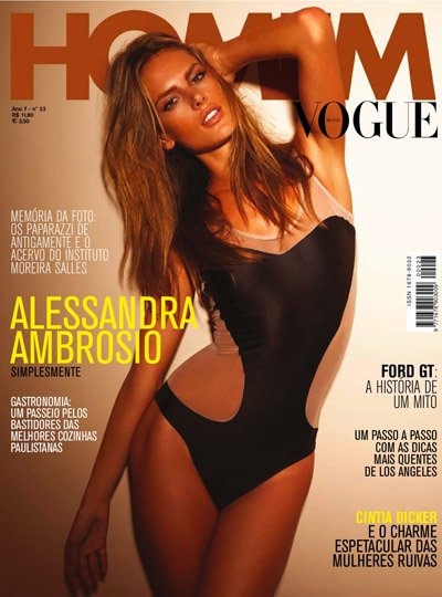 Alessandra Ambrosio - Photo: Jannis Tsipoulanis for Vogue Homem April 2009