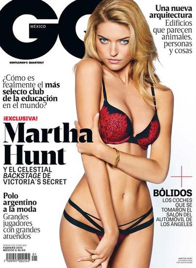Martha Hunt - Ph. Gavin Bond for GQ