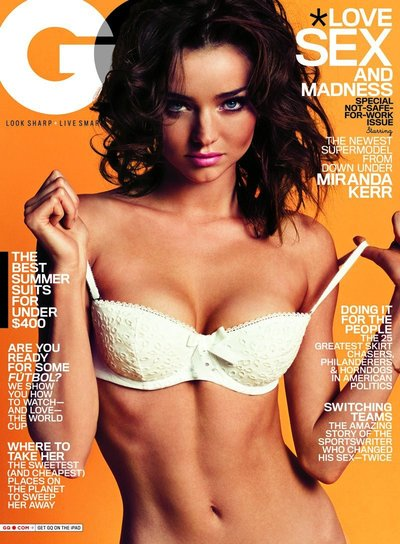 Miranda Kerr - Photo: Inez & VInoodh for GQ June 2010