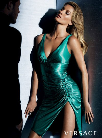 Gisele Bundchen - Photo: Mario Testino for Versace F/W 10