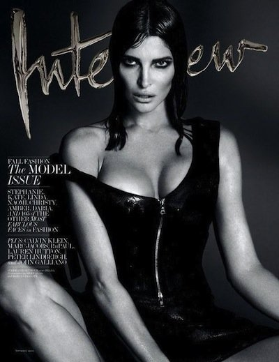 Stephanie Seymour - Ph: Mert Alas and Marcus Piggot for Interview Sept 2013