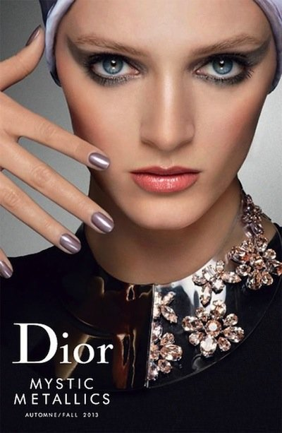 Daria Strokous - Photo: Steven Meisel for Dior Beauty 2013