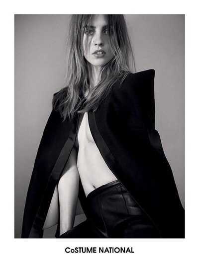 Julia Frauche - Ph. Glen Luchford for Costume National