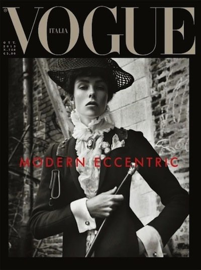 Edie Campbell - Ph: Steven Meisel for Vogue Italia October 2013