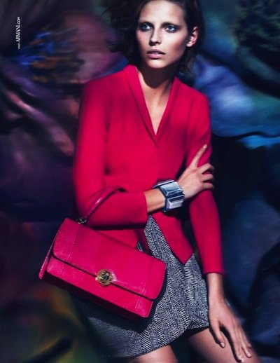 Karlina Caune - Ph: Mert & Marcus for Giorgio Armani S/S 14