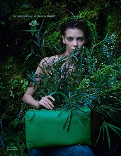 Diana Moldovan - Ph. Hans Silvester for Hermes