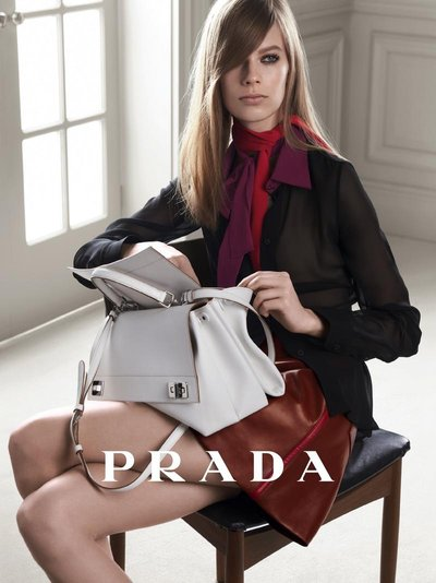 Lexi Boling - Prada April 201 Campaign by Steven Meisel