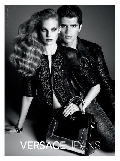 Elisabeth Erm - Ph. Luigi & Iango for Versace Jeans