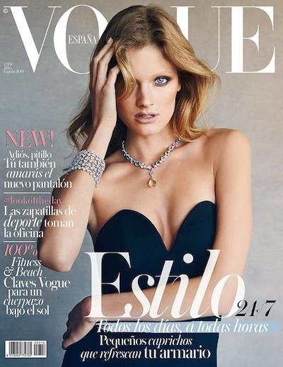 Constance Jablonski - Photo: Patrick Demarchelier for Vogue Espana July 2014