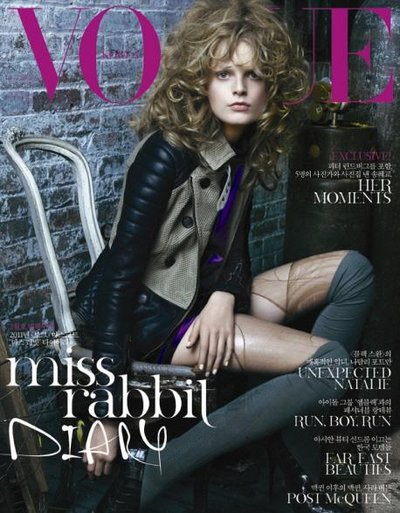 Hanne Gaby Odiele - Photo: Tesh for Vogue Korea February 2011