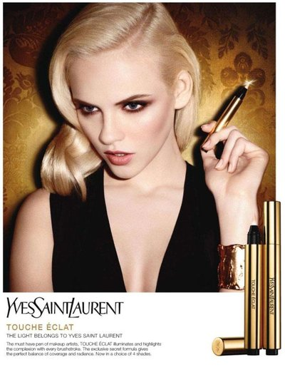 Ginta Lapina - Photo: Terry Richardson for Yves Saint Laurent Beauty F/W 2011