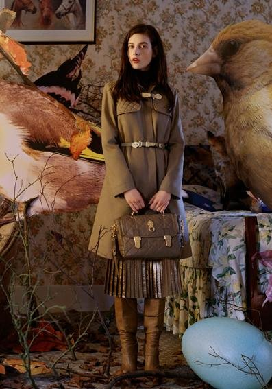 Tatiana Cotliar - Photo: Tim Walker for Mulberry F/W 2011