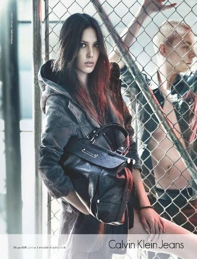 Ruby Aldridge - Photo: Sebastian Kim for Calvin Klein Jeans F/W 2011