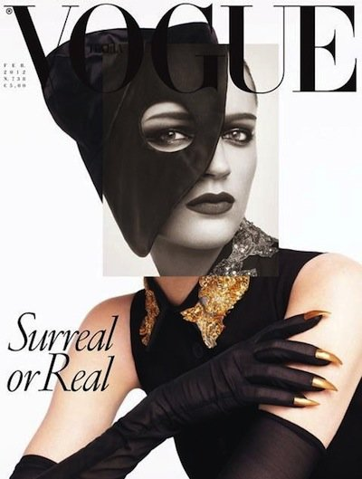 Laura Kampman - PH: Steven Meisel: Vogue Italia Feb 2012