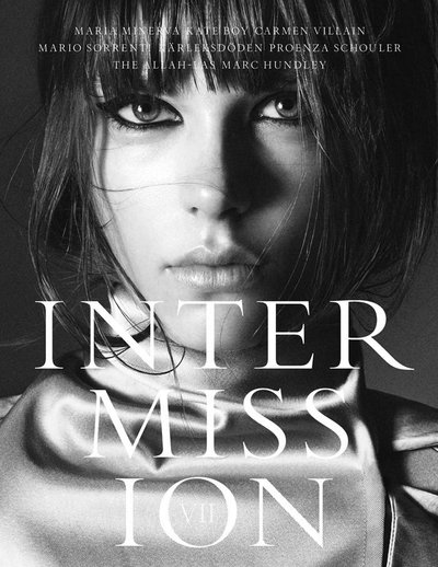 Caroline Brasch Nielsen - Photo: Fabien Baron for Intermission April 2013 Cover