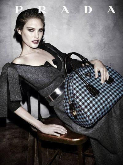 Catherine McNeil - Ph: Steven Meisel for Prada