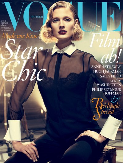 Constance Jablonski - Photo: Alexi Lubomirski for German Vogue Feb 2013