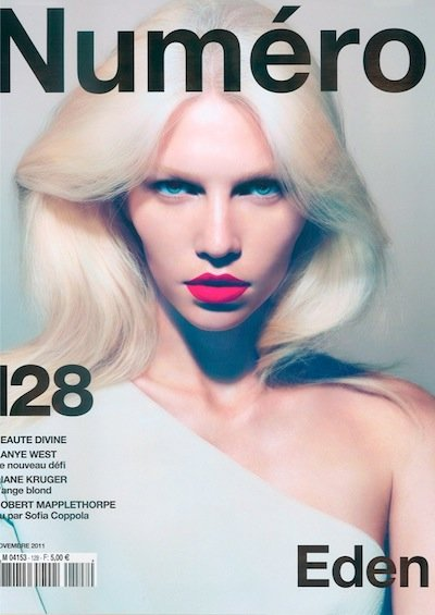 Aline Weber - Ph: Camilla Akrans for Numero November 2011