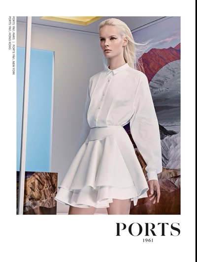 Irene Hiemstra - Ph. Craig McDean for Ports 1961